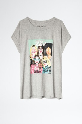 Zadig & Voltaire Anya Band of Sisters T-shirt