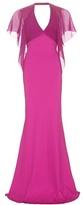 Roberto Cavalli Silk-chiffon gown
