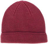 Canali ribbed knit beanie - men - Wool - One Size