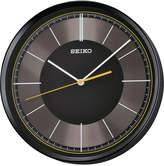 Seiko Black Resin Wall Clock
