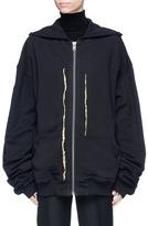Haider Ackermann 'Perth' metallic embroidered hoodie