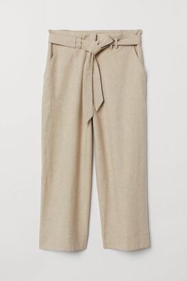 H&M H&M+ Paper-bag Pants