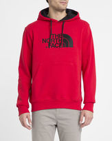 The North Face Red Chest Logo Pocket Hooded Sweatshirt