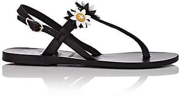 Ancient Greek Sandals Women's Sylvie Leather Sandals - Black