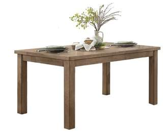 Andover Mills Sonya Dining Table Color: Brown