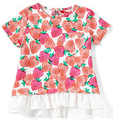 Joules Baby/Little Girls 12 Months-3T Lulabelle Strawberry Top