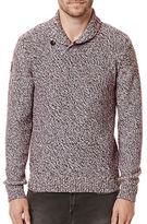 Buffalo David Bitton Washawl Two-Tone Knit Sweater