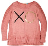 Vintage Havana Girls' XO Waffle Knit Top, Sizes S-XL - 100% Exclusive
