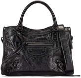 Balenciaga Mini Classic City Bag in Black | FWRD