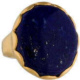 Jamie Wolf 18K Lapis & Diamond Ring