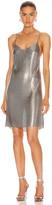 Fannie Schiavoni Alexandria Dress in Silver | FWRD