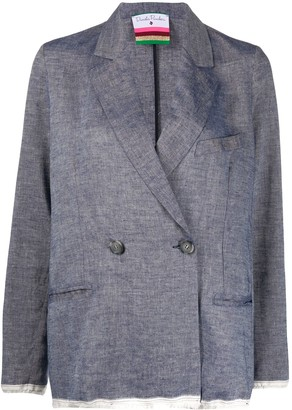 Danielapi Oversized Double-Breasted Blazer