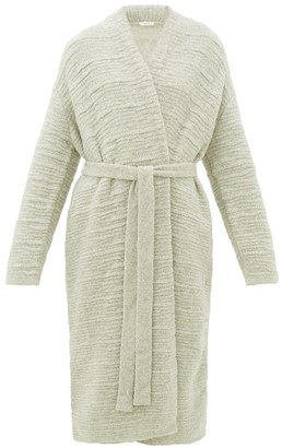 The Row Atra Boucle Wool-blend Cardigan - Light Grey