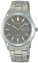 Seiko Sgg599p1 Analogue Titanium Bracelet Strap Watch, Silver/grey
