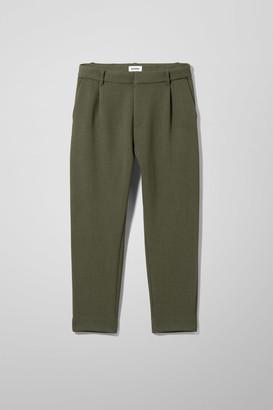 Weekday Mard Trousers - Black