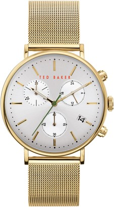 Ted Baker Mimosaa Chronograph Mesh Strap Watch, 41mm