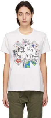 R 13 Off-White RHCP Doodle Boy T-Shirt