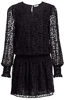Parker Women's Carmindy Embroidered Semi-Sheer Dress