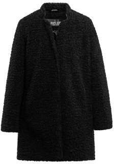 Mark Alan New York Women's Plus Long Sherpa Coat