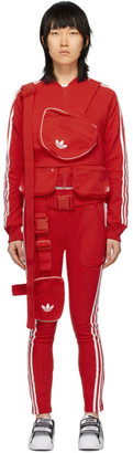 adidas Red Ji Won Choi and Olivia OBlanc Edition SST Track Jacket