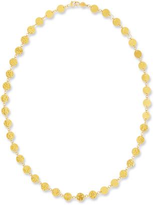 "Gurhan Single Short Lush Necklace in 24K Gold, 18"""