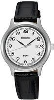 Seiko Women's Leather Watch