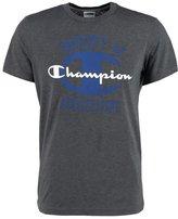Champion Print Tshirt Dark Grey Melange