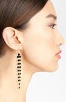 Black Diamond Carbon Copy Crystal Drop Earrings