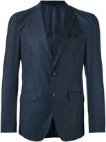 Etro tile pattern blazer - men - Cotton/Viscose - 48