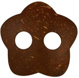 1 World Sarongs Hand Crafted Coconut Sarong Ties - Oval