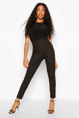 boohoo Contour Waist Pocket Back Jeggings