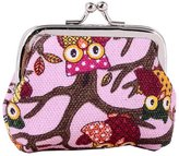 D Major Womens Cute Owl Mini Bag Pouch Coin Purse Clutch Bag Wallet