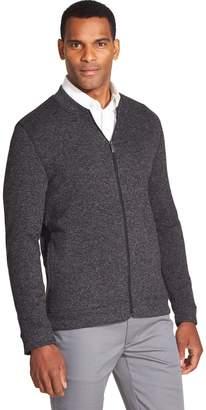 Van Heusen Men's Never Tuck Sweater Fleece Full-Zip Sweater
