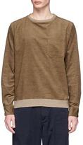 Nanamica Velveteen sweatshirt