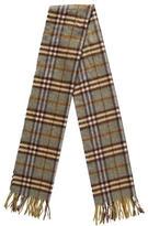 Burberry Cashmere Check Stole