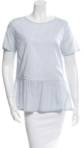 Chinti and Parker Short Sleeve Peplum Top w/ Tags
