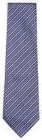 Armani Collezioni Embroidered Stripes Tie