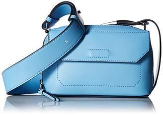Calvin Klein womens Karsyn Nappa Leather Belted Crossbody