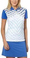 Puma Diamond Graphic Golf Polo Shirt