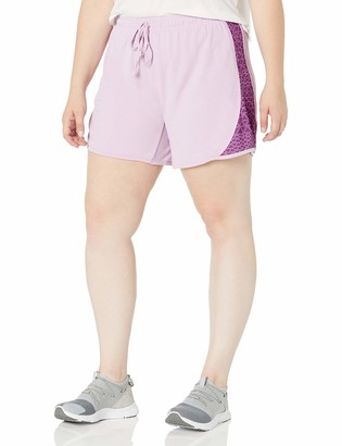 Fit for Me by Fruit of the Loom Women's Plus Size Mesh Knit Short