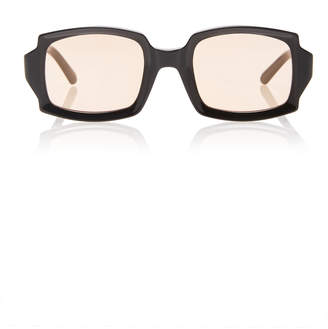 Karen Walker Monumental by Sidney Acetate Square-Frame Sunglasses