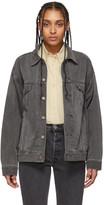 Levi's Levis Grey Denim Dad Trucker Jacket