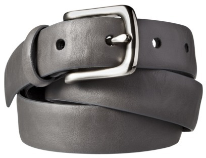 Merona Career Slim Belt - Grey