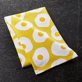 Crate & Barrel Sunny Side Up Dish Towel
