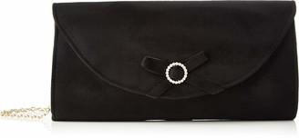 El Caballo Bornos Womens Glamor Black (Negro) 27x16x3 cm