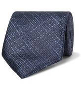 Tom Ford 8cm Silk-jacquard Tie - Midnight blue