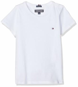 Tommy Hilfiger Girl's Basic Cn Knit S/s T-Shirt