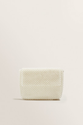 Seed Heritage Beaded Fold Over Clutch