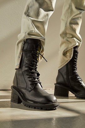 Jeffrey Campbell Murphy Mid Lace-Up Boots