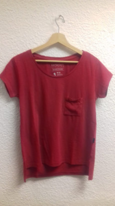 Fresh Cuts Clothing - Pocket Pre Washed Tee - Pre Wash / Small / Vintage Red
